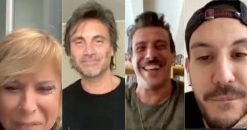 Anna intervista sul profilo Instagram di RDS Gabbani, De Palma e Nek per l'iniziativa 'Ma il cielo è sempre blu'