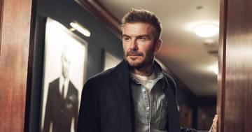 David Beckham senza il cappello svela un particolare nascosto