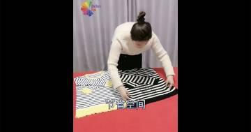 Ecco come si piegano davvero i vestiti