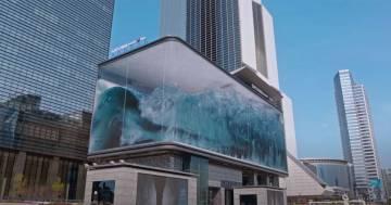 In Corea c'è lo spettacolare acquario con le onde del mare: ma non è come sembra