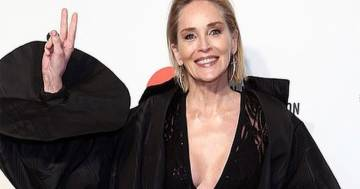 Sharon Stone e la quarantena in bikini: in splendida forma a 62 anni