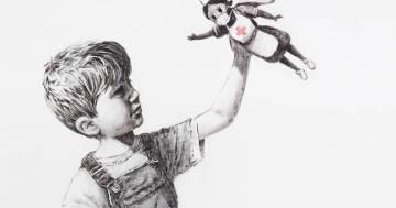 Banksy omaggia i medici e gli infermieri inglesi con un'opera dedicata