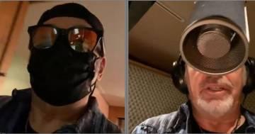Vasco Rossi è tornato in studio: ecco le foto