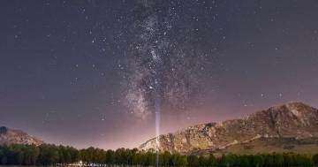 La Via Lattea si muove, lo spettacolo è singolare