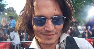 Jack Sparrow (Johnny Depp) fa visita ai bimbi malati del Queensland Children's Hospital in Australia