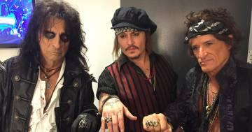 Alice Cooper per il suo biopic vorrebbe l'amico Johnny Depp