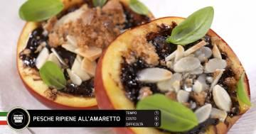 Pesche ripiene all'amaretto - Alessandro Borghese Kitchen Sound - Rural Glam
