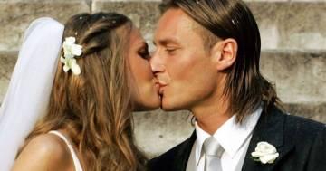 Francesco Totti e la dolce dedica a Ilary Blasi per i 15 anni di matrimonio