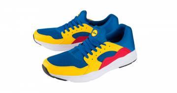 Le coloratissime scarpe della Lidl arriveranno anche in Italia