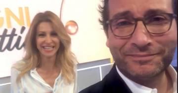 """Adriana Volpe e Alessio Viola smentiscono il litigio a """"Ogni Mattina"""": ecco il video"""