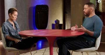 Will Smith scopre dalla moglie in diretta di essere stato tradito: il video