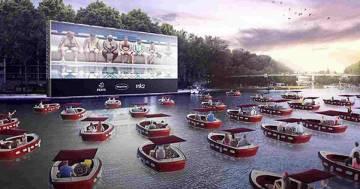 A Parigi si inaugura il primo cinema galleggiante che rispetta il distanziamento sociale