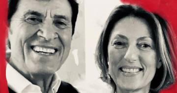 Gianni Morandi e la romantica dedica a sua moglie Anna