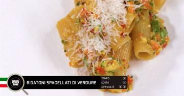 Rigatoni spadellati di verdure - Alessandro Borghese Kitchen Sound - Teen