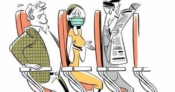 Nell'aereo del futuro ci sarà il sedile per il distanziamento sociale