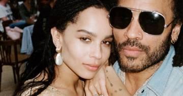 Zoe Kravitz: spunta la foto delle nozze segrete della figlia di Lenny Kravitz