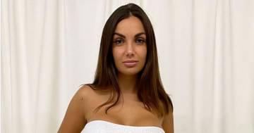 """L'abito bianco di Elettra Lamborghini scandalizza i fan: """"Ti sposi davvero così?"""""""