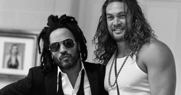 La bellissima dedica di Lenny Kravitz a Jason Momoa per il suo compleanno