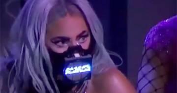 MTV Video Music Awards 2020: Lady Gaga canta per 9 minuti con la mascherina