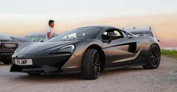 Sorpasso proibito in Trentino: così i carabinieri fermano la McLaren