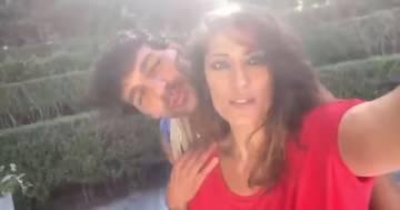 'Ballando con le stelle': spunta la foto del bacio tra Elisa Isoardi e Raimondo Todaro