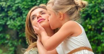 Elisabetta Canalis e la bellissima foto per il compleanno della figlia Skyler