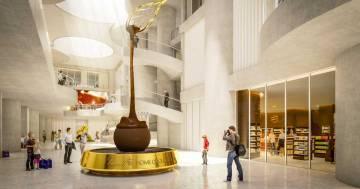 Lindt ha inaugurato la sua casa del cioccolato in stile Willy Wonka: ecco le foto