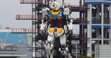 Il Gundam a grandezza naturale ha mosso i suoi primi passi: il video è incredibile