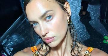 Capelli bagnati e sguardo profondo, Irina Shayk è più seducente che mai