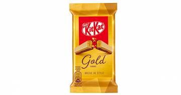 KitKat Gold: arriva in Italia il nuovo gusto al caramello salato