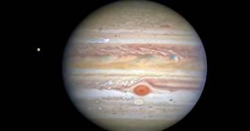 Le spettacolari immagini di Giove catturate dal telescopio Hubble della Nasa