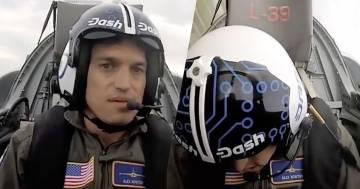 Il pilota sviene durante un'esercitazione: il video è impressionante