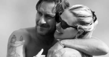 La dedica romantica di Ilary Blasi per il compleanno di Francesco Totti