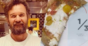 Carlo Cracco provoca i suoi clienti servendo la pizza senza una fetta