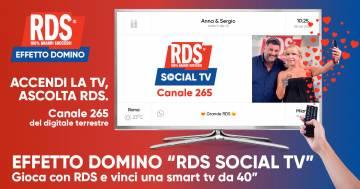 Effetto Domino: RDS Social TV!