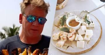 Gordon Ramsey accende le polemiche per un piatto di formaggi servito al suo ristornate stellato