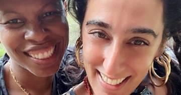 Skin annuncia il matrimonio con Ladyfag su Instagram: nel post, la dolce dedica e la foto con gli anelli di fidanzamento