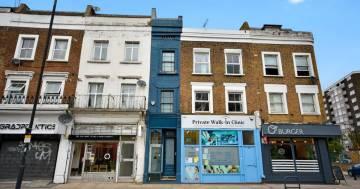 La casa più piccola di Londra è in vendita per un milione di sterline: ecco le foto
