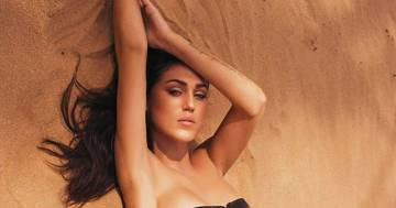 Reggiseno e collant, Cecilia Rodriguez è più sensuale che mai