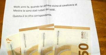 Il ladro si sente in colpa e gli restituisce lo stipendio rubato dopo 40 anni: ecco la sua lettera