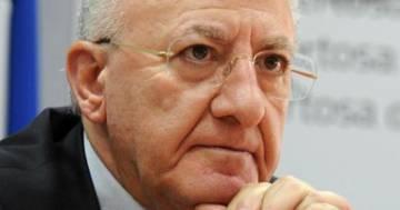 Coronavirus: Vincenzo De Luca chiede un nuovo lockdown