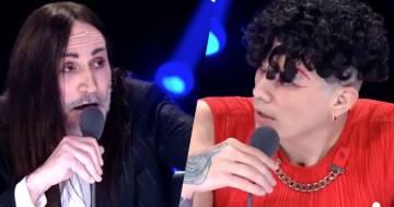 Il duro scontro tra Manuel Agnelli e Hell Raton a X-Factor: il video