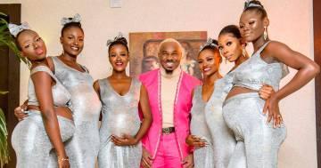 L'invitato ruba la scena agli sposi presentandosi con sei donne, tutte incinte di lui