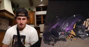 Questo youtuber 17enne ha distrutto la Pagani del padre: ecco il video