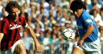 'Avevi un grande cuore': Franco Baresi, leggenda del Milan, saluta Maradona