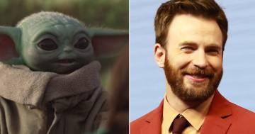 Chris Evans come Baby Yoda: i confronti su Twitter sono adorabili