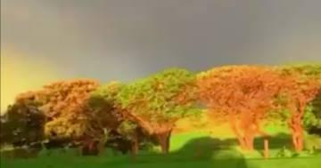 Il meraviglioso doppio arcobaleno è apparso nei cieli della Romania