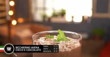BICCHIERINO AVENA COCCO CIOCCOLATO  - Alessandro Borghese Kitchen Sound - Green