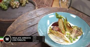 Insalata arrosto con fonduta - Alessandro Borghese Kitchen Sound - Rural Glam