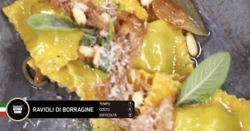 Ravioli di borragine - Alessandro Borghese Kitchen Sound - Rural Glam